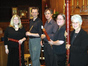 The Wireless Consort Recorder Ensemble